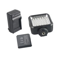Video Light 36 LED 5600K 4W Intergrated Fill Light for Wedding News Interview Macro photography
