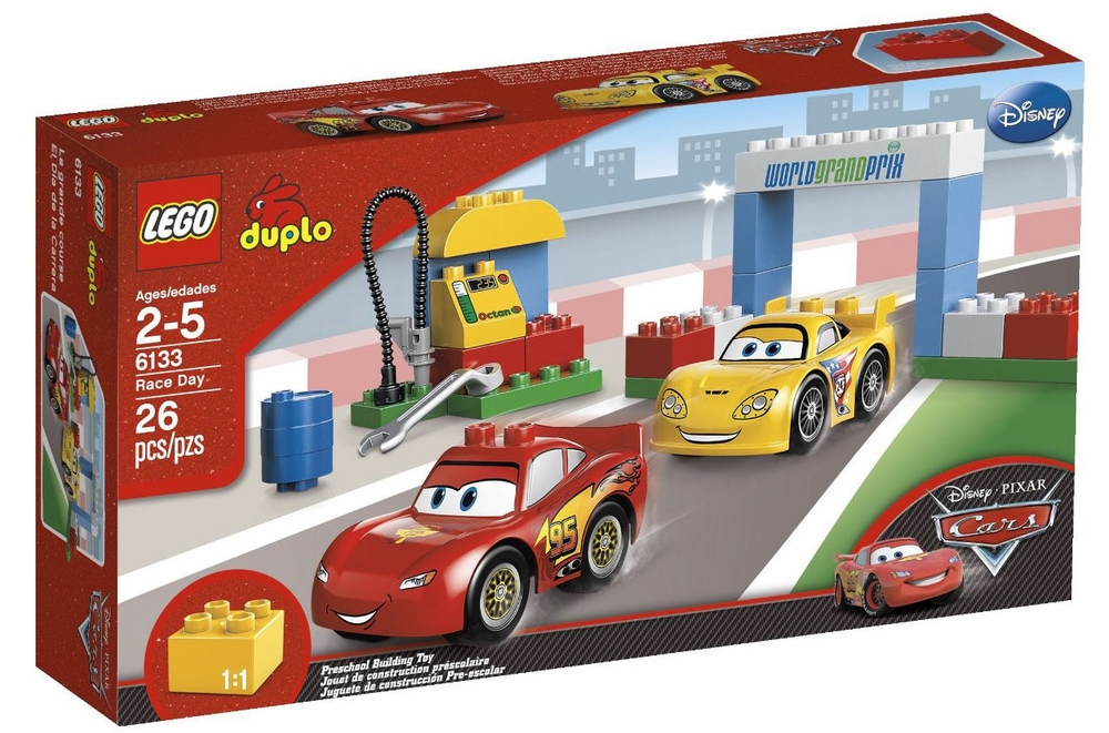 Lego Duplo 6133 Cars Race Day Walmart