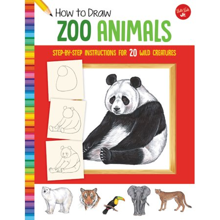 How to Draw Zoo Animals : Step-by-step instructions for 20 wild creatures - Halloween Creatures Draw