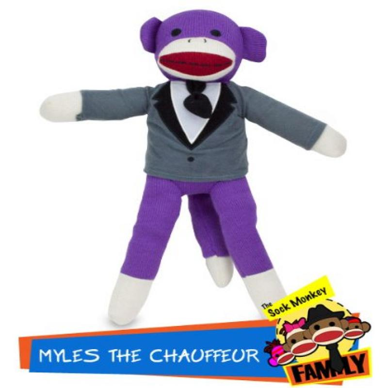 Brybelly Holdings TSMF-301 Myles the Chauffeur from The Sock Monkey Family