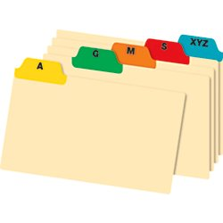 A-Z Card Guides 4