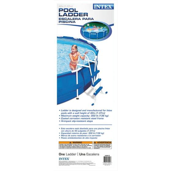 intex 42 pool ladder walmart com