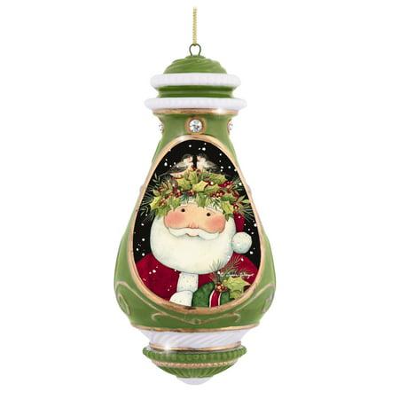 Precious Moments Santa Claus Merry Christmas to All Bisque Porcelain (Precious Moments Christmas)