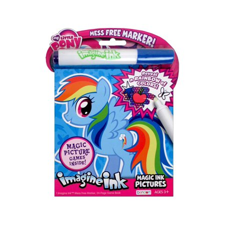 Bendon Magic Ink Pictures Bk My Little Pony - Magic Ink