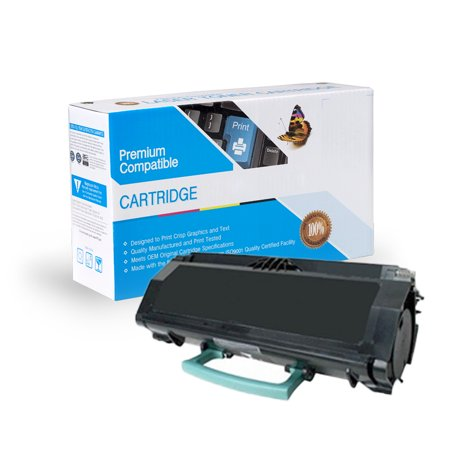 Lexmark E260a11a,e260a21a Reman Toner Cartridge- Black Black Reman Toner
