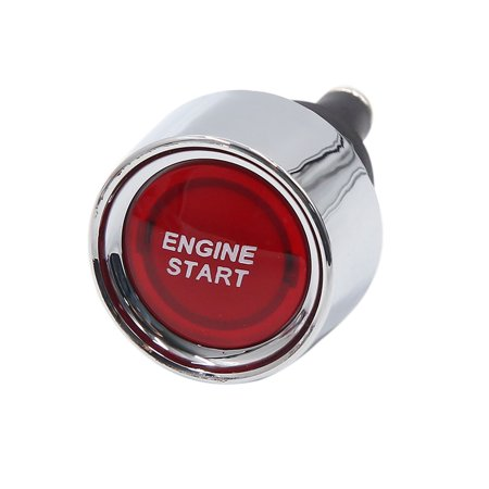 Engine Starter Switch - 12V 50A Auto Car Engine Start Push Button Switch Momentary Ignition Starter