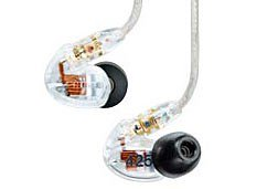 how to clean transparent earbud headphones