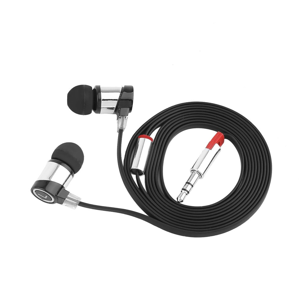 Professional Stereo Music Headphone 3.5mm In Ear Earphone Headset Earbud for Smart Phone 4 colors