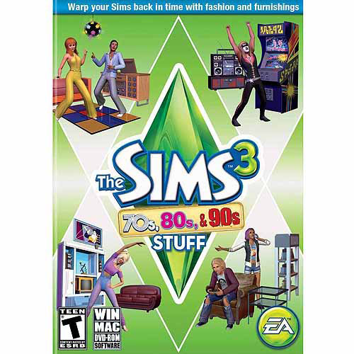 Sims 3 '70s, '80s and '90s Expansion Pack (PC/Mac) (Digital Code)