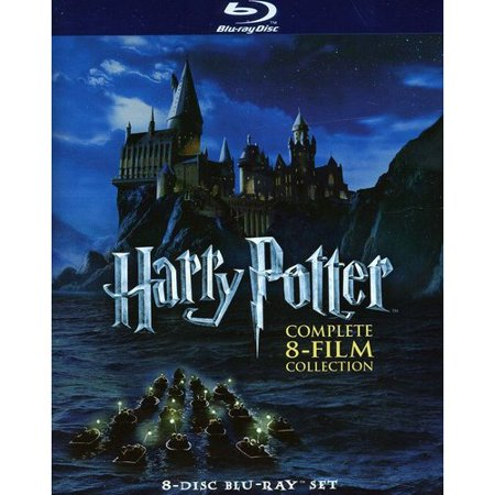Harry Potter  The Complete 8 Film Collection Box Set  Blu Ray