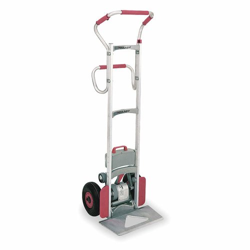 Magline Inc Inc. 375 lbs Capacity Aluminum Powered Stair Climbing Hand Truck Dolly