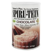 Jay Robb Natures Plus Spiru-Tein Energy Meal, 1.05 lb