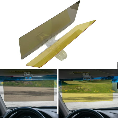 Car Sun Visor Extension, Car Anti Glare Driving HD Visor, Universal Day and Night Vision Anti-Glare Windshield (Car Visor Extension)