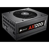 Corsair AX1200i ATX Power Supply 1200 Watt 80 PLUS Platinum Certified Fully-Modular PSU