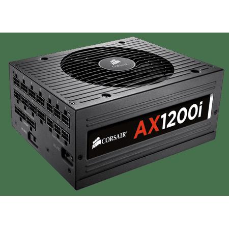 Corsair AX1200i ATX Power Supply 1200 Watt 80 PLUS Platinum Certified Fully-Modular (Best Platinum Power Supply)
