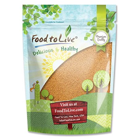 Mustard Seed Clasp (Food To Live ® Yellow Mustard Seeds (1)