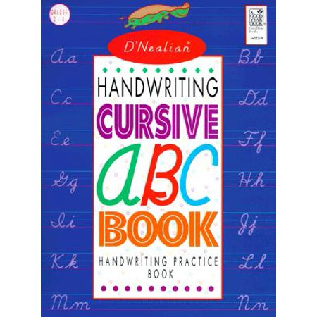 D'Nealian Handwriting Cursive ABC - Handwriting Books