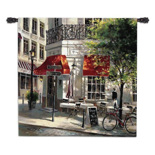 Corner Cafe Wall Tapestry