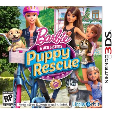 Barbie And Her Sisters: Puppy Rescue- Nintendo 3DS (Little Orbit)