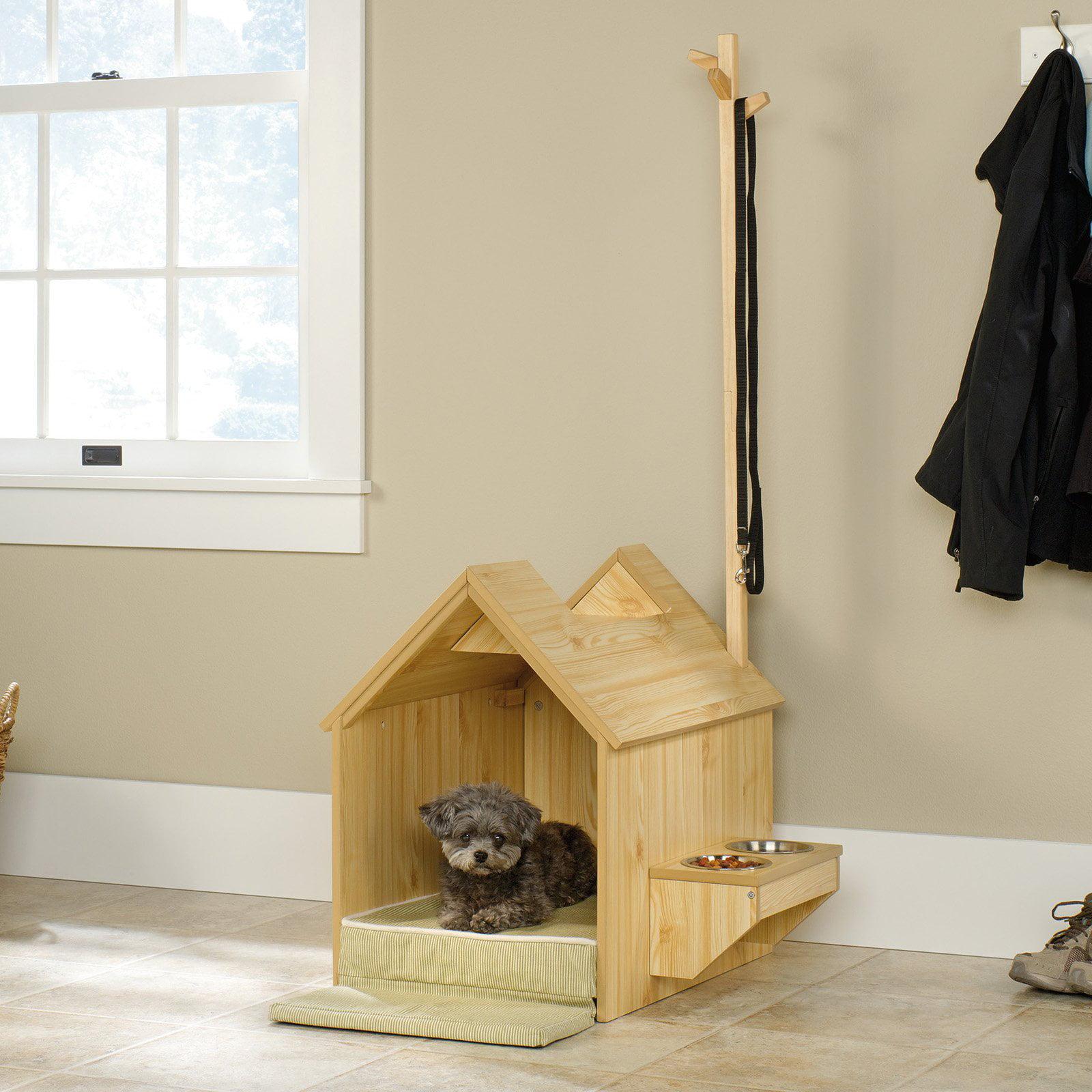 Sauder Woodworking Inside Dog House, Light Pine Finish