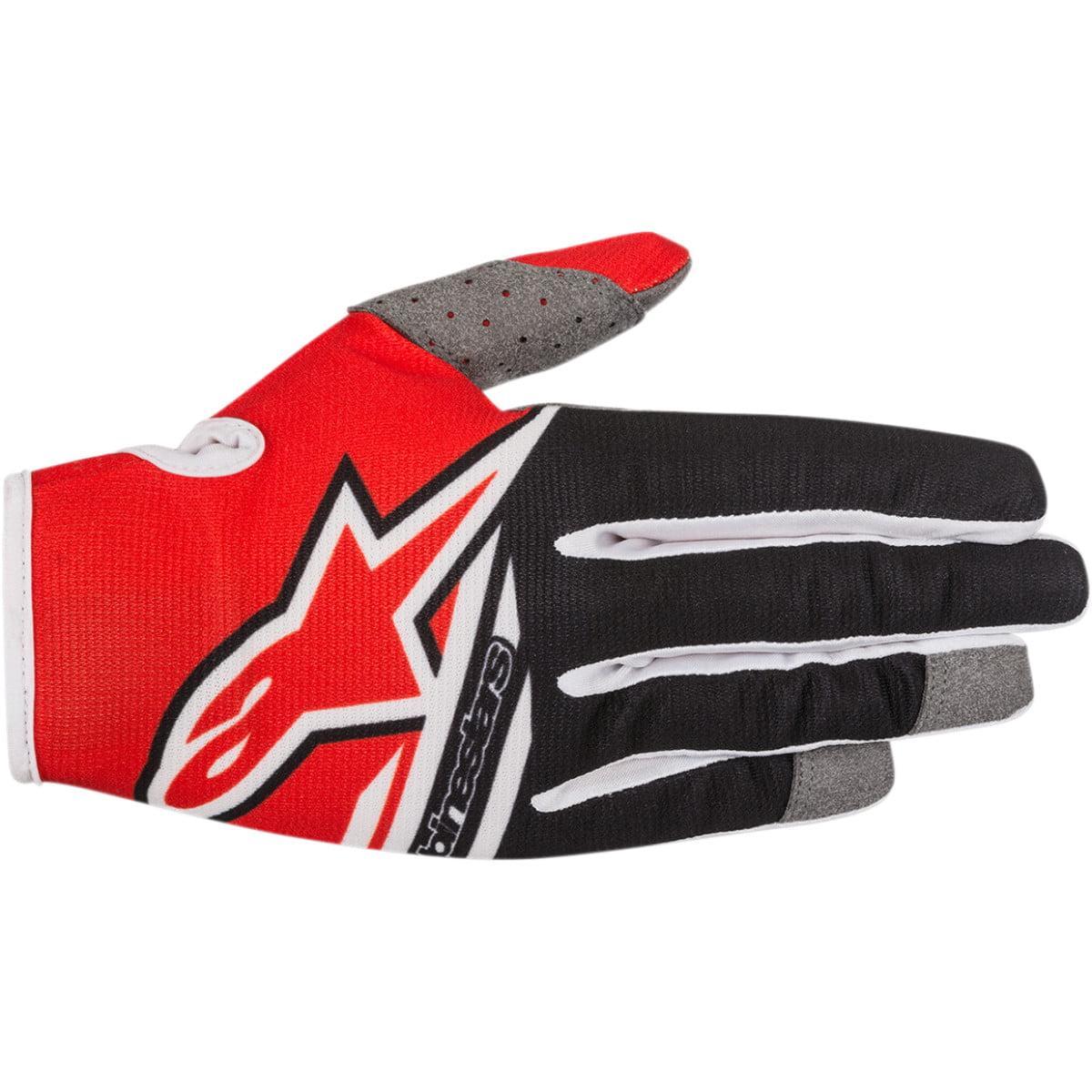 Alpinestars Radar Flight Gloves Short Cuff Gloves (multi Black/red, Medium)
