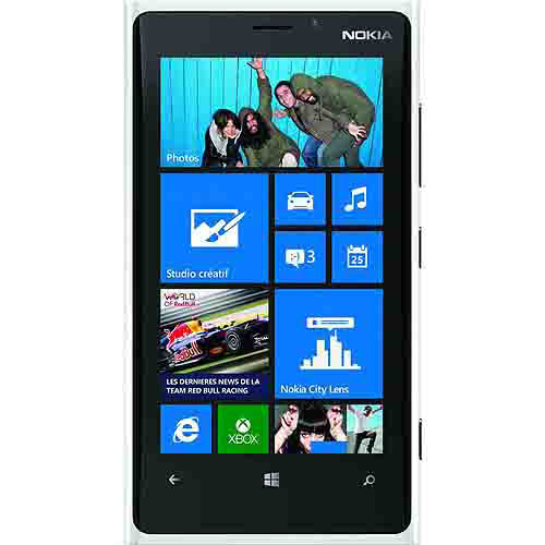 Nokia Lumia 920 GSM Phone, White (Unlocked)