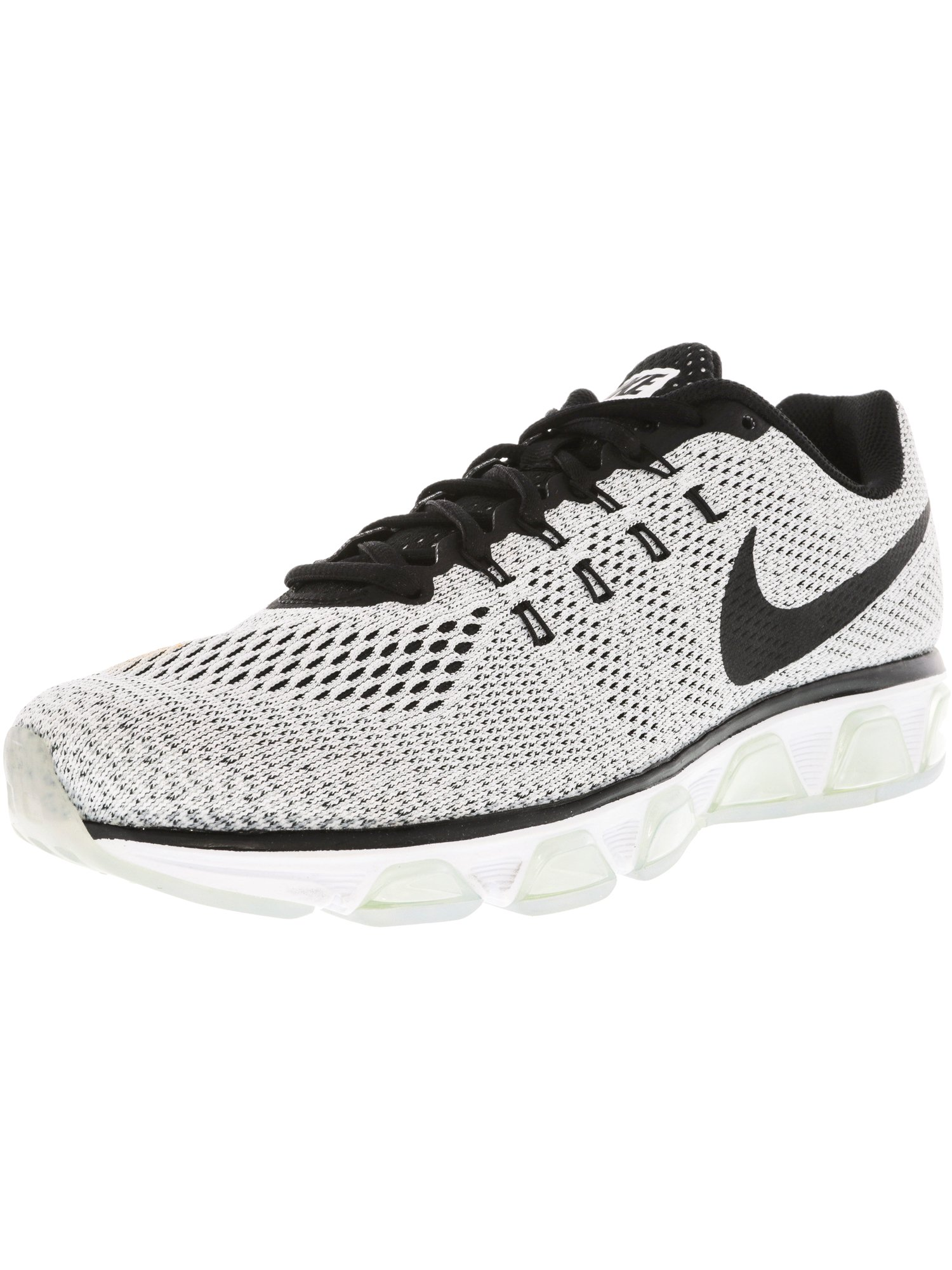 sale retailer 6a8b9 de378 Nike Men's Air Max Tailwind 8 White / Black Ankle-High ...