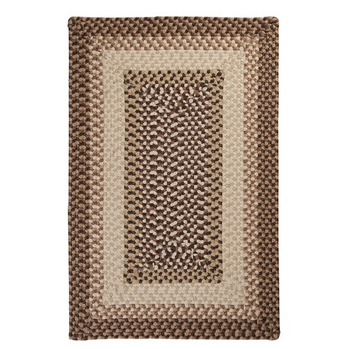 Colonial Mills Tiburon Sandstorm Braided Indoor/Outdoor Area Rug