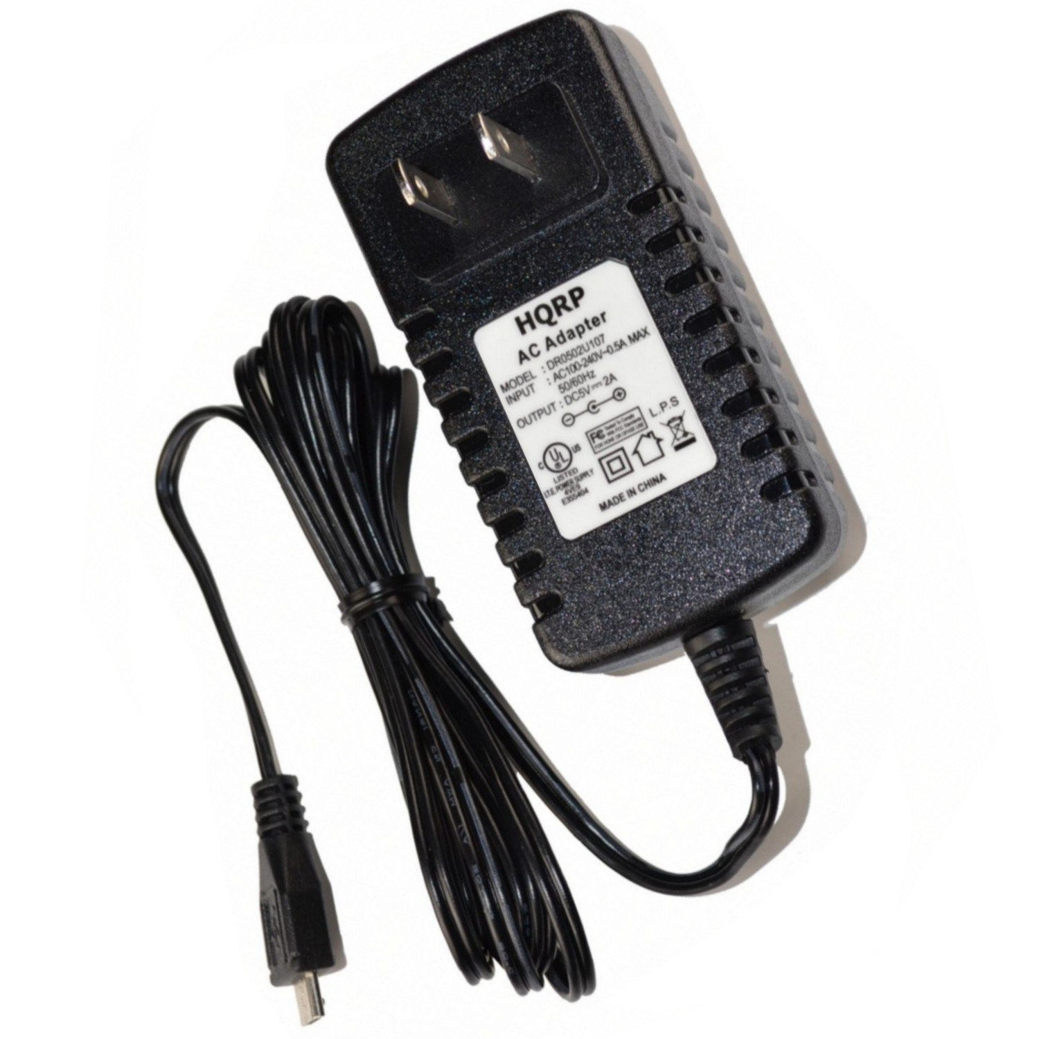 Hqrp Ac Adapter Battery Charger Micro Usb Charging Cable