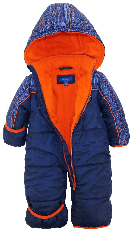 bfa84fbbf899 iXtreme Baby Boys Expedition Puffer Winter Snowsuit Pram Bunting ...