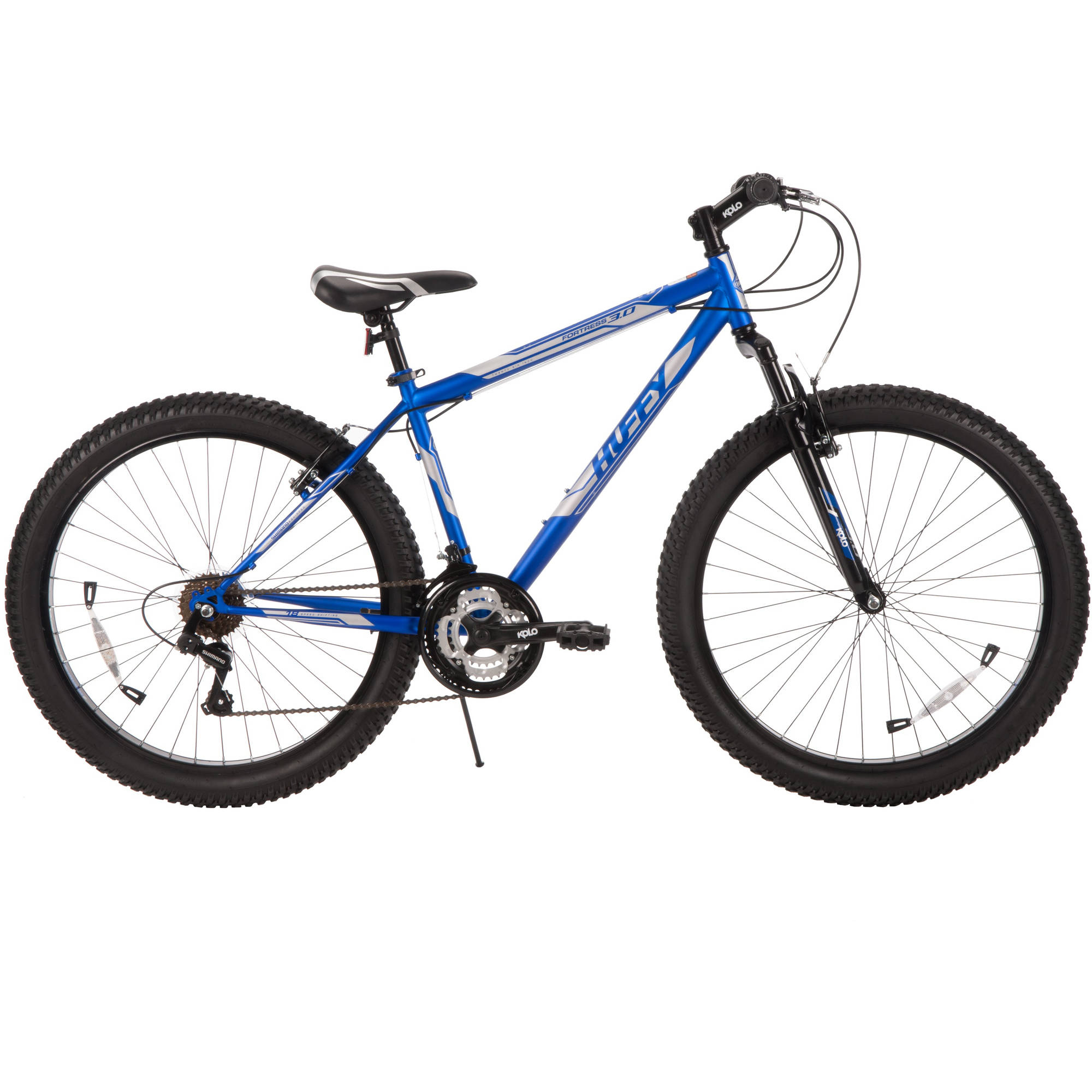 "26"" Huffy Men's Fortress 3.0 Mid-Fat Plus Tire Mountain Bike, Blue"
