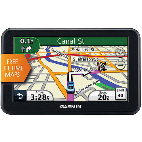 "Refurbished Garmin Nuvi 50LM 5"" GPS with Lifetime Map Updates"