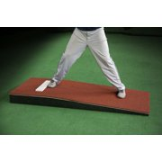 """ProMounds Junior Pitching Mound 6""""H x 30""""W x 76""""L - Clay Colored Turf"""