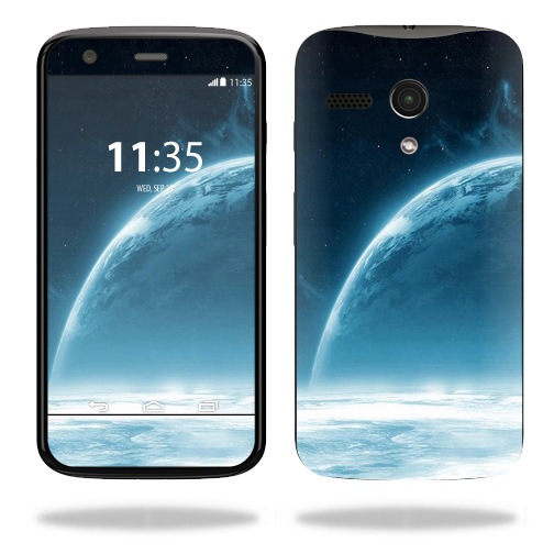 MightySkins Protective Vinyl Skin Decal for Motorola Moto G wrap cover sticker skins Outer Space