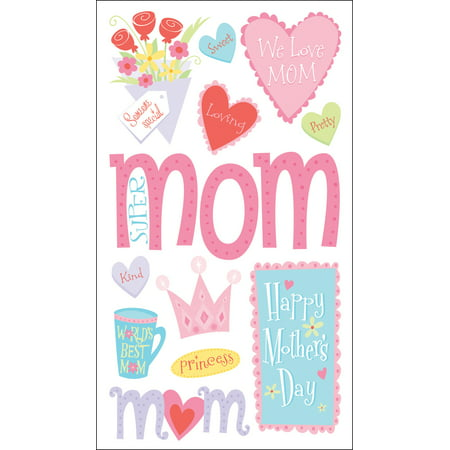 Sticko Stickers-Happy Mother's Day (Happy Mothers Day Stickers)
