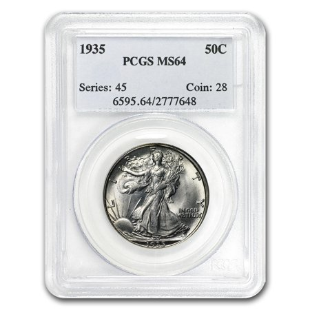 1935 Walking Liberty Half Dollar MS-64 (Gold Liberty Dollar)