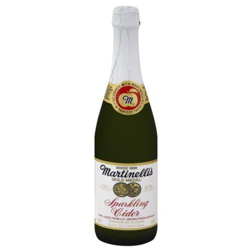 Martinelli's Gold Medal Sparkling 100% Juice, Cider, 25.4 Fl Oz, 1 Count