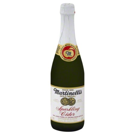 Martinelli's Gold Medal Sparkling Cider 100% Juice from Apple, 25.4 Fl. Oz.