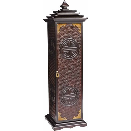 Rosewood Pagoda CD/DVD Stand