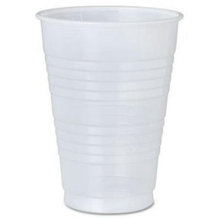 12 Oz Plastic Cups (CPC FK12 12 oz Translucent Lightweight Disposable Plastic Cup  Set of)