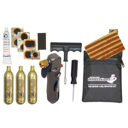 Repair Kits Digital Innovations - Innovations In Cycling G3516 Tire Repair and Inflation Kit