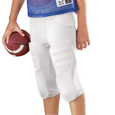 Youth Solo Polyester Football Pants, Black