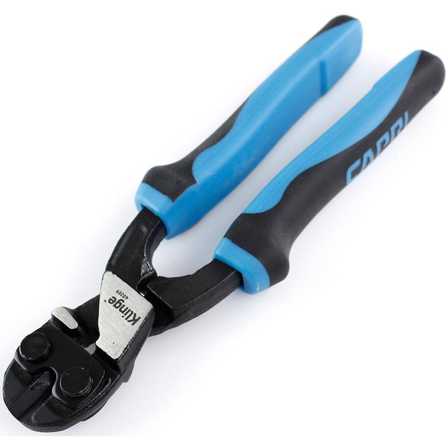 """Capri Tools 40209 Klinge Mini Bolt Cutter, 8"""", Blue/Black"""