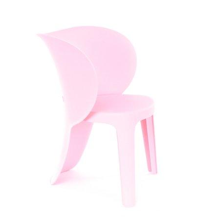 Design Lab MN LS-9606-PNK Elephant Baby Pink Kids Chair Set of