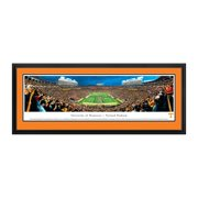 """Tennessee Volunteers 18"""" x 44"""" Power T Deluxe Framed Panoramic Wall Art"""