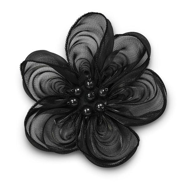 Expo Int'l Lala Organza Flower Brooch and Hairclip