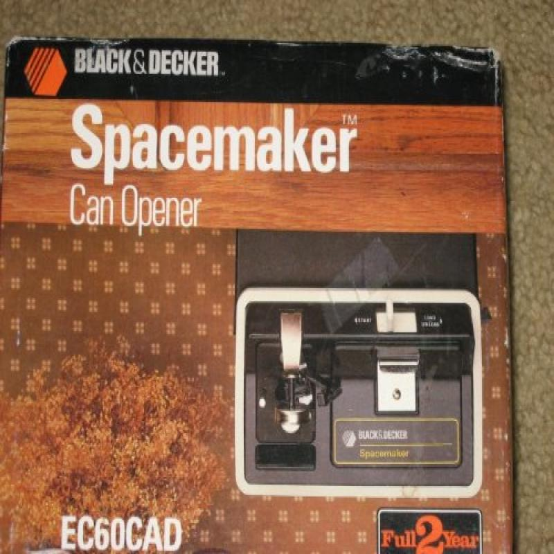 Black U0026 Decker Spacemaker Can Opener EC60CAD