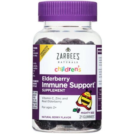 Zarbee S Naturals Children S Elderberry Immune Support