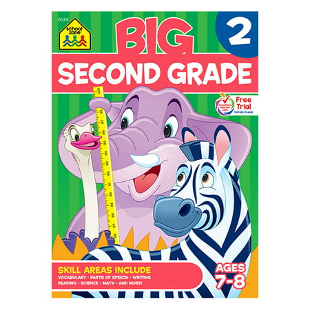 Big Second Grade Workbook - Halloween Math 2nd Grade
