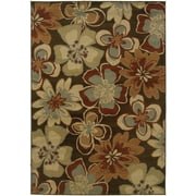 Home Expressions Chestnut Indoor/Outdoor Area Rug